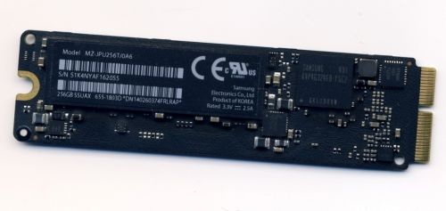 MZ-JPU256T/0A6 SSD Flash 256Gb для MacBook Pro 13 A1502, A1398 Retina , MacBook Air ,2013 - 2015
