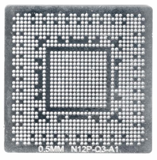 Трафарет прямого нагрева N12P-Q3-A1 N12E-GE-A1 N12E-GE2-A1 N12P-Q1-A1
