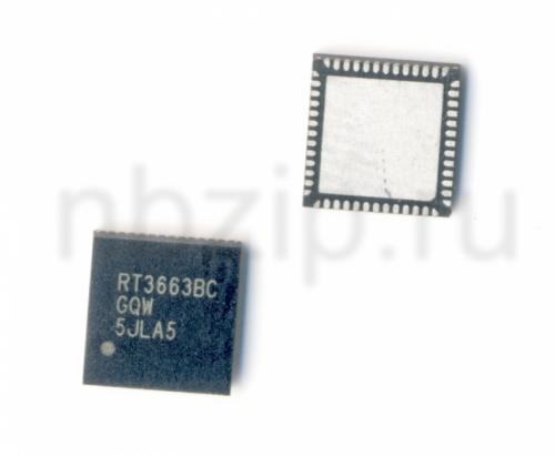 RT3663BC ШИМ контроллер RichTek RT3663BCGQW