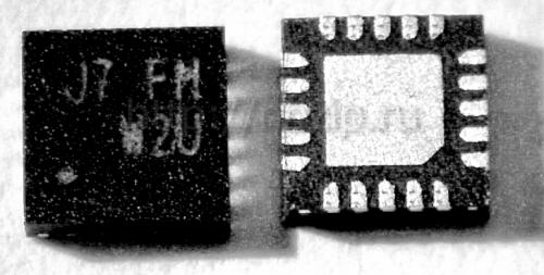 Купить RT8207M ШИМ-контроллер Richtek WQFN-20L