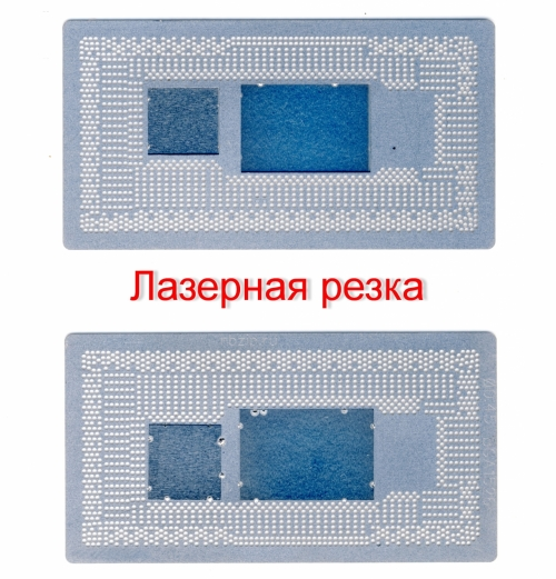 Трафарет прямого нагрева BGA1526 процессоры Intel 10-ое поколение Ice Lake SRG0N SRGKJ SRGKK