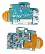 Плата USB Sony Vaio VGN-SR серий M750 MP USB BOARD 1P-1084104-6011