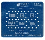 Трафарет NAND EMCP/EMMC 6 в 1
