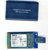 Переходник mSATA на USB 3.0