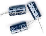 Конденсатор электролитический 2200x35v (13x25 мм)