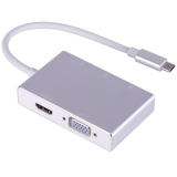 Переходник с USB-C на HDMI , VGA , 3хUSB 3.0