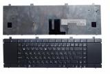 Клавиатура для ноутбука Asus NX90SN, NX90JQ, NX90JN черная, без рамки