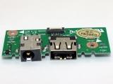 ASUS X301A X401A X501A 60-NLOIO1001-X01 DC USB Board