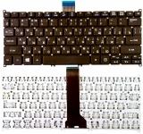 Клавиатура ноутбука Acer Aspire E11 ,E3-111, ES1-111, ES1-111M, V5-122, V5-122P, V5-171, V5-132P, V3-331, V3-371, V3-372 черная