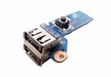 BA92-05996A Плата кнопки включения и USB Samsung R525 R528 R530 R540 R580 RV508 R730
