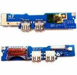 BA92-09691A  плата USB, кардридер, плата включения Samsung NP530U3A, NP530U3B