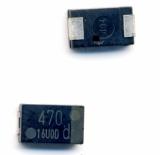 EEFSX0D471ER  Panasonic , полимерный конденсатор  470 мкФ, 2 В с очень низким ESR . Original