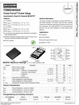 Транзистор сдвоенный FDMS3600 Fairchild FDMS3600AS