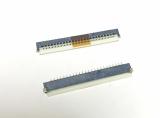 Разъем клавиатуры Asus, Acer и др. 24 pin , шаг 1 мм . Flip
