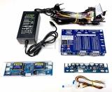 Тестер матриц телевизора, монитора, ноутбука LVDS + 14 кабелей