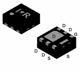 IRFHS8342 N-Channel MOSFET маркировка IRH8342 , HB .