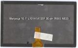 """Матрица 10.1"""" L101H1A120F 30 pin для нетбука IRBIS NB20"""