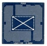 Трафарет прямого нагрева LGA1156 socket Intel