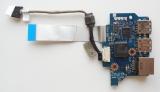 LS-5402P USB плата, Lan разъем для ноутбука Acer Asire 5538 , 5534