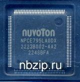 NPCE795LA0DX Мультиконтроллер - NUVOTON