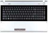 Клавиатура для ноутбука Samsung RV511, RV515, RV520 черная, с верхней панелью