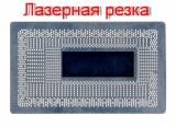 Трафарет прямого нагрева BGA1356 , Intel 6 поколение ,SR2EU SR2EY 0.45mm . Лазер.