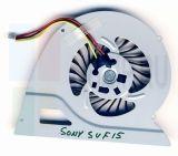 UDQF2ZR77CQU вентилятор ноутбука Sony Fit15, SVF15A18SCB, SVF15A18, F15A, SVF15A19