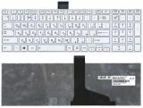 Клавиатура ноутбука Toshiba Satellite C50, C70, C70D, Белая