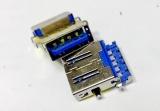 Разъем USB 3.0 ноутбука Asus D550M K751L UX21E UX31A UX31A2 UX31E UX32VD U38N U38DT X451CA X451MA X551C X551CA X551MA