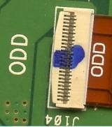Межплатный разъем Asus X540U , X540Y , R541UJ , X541UVK, разъем на плату HDD