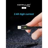 Качественный прочный кабель Lightning для Iphone и Ipad 1 м. Konfulon S92