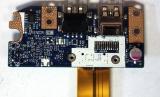 Плата USB-разъемов P5WE0 LS-6904P для ноутбука Acer Aspire 5750, 5755, Packard Bell TS11