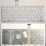 Клавиатура для ноутбука Asus Eee PC 1011, 1015, 1025, X101 белая