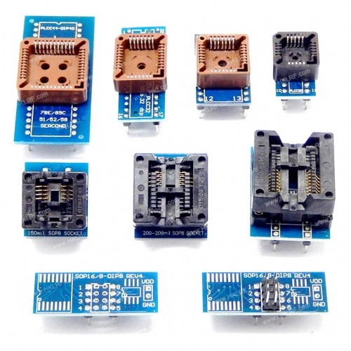 TL866II Plus программатор SPI , NAND . + адаптеры и экстрактор