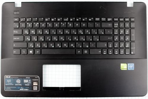 Верхняя часть, Топкейс с клавиатурой Asus X751, F751 , R752, K751 серий