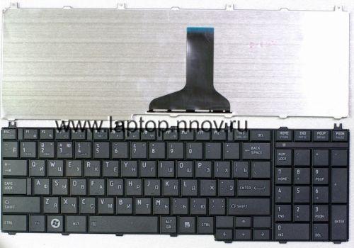 Клавиатура ноутбука Toshiba Satellite C650, C650D, C655