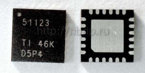 Купить TPS51123 ШИМ-контроллер Texas Instruments
