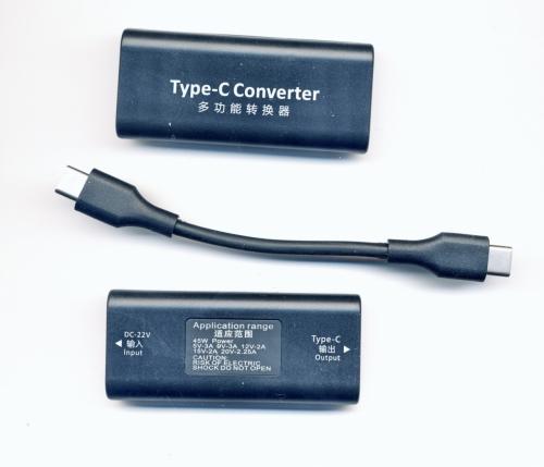 Конвертер Type C с поддержкой Power Delivery