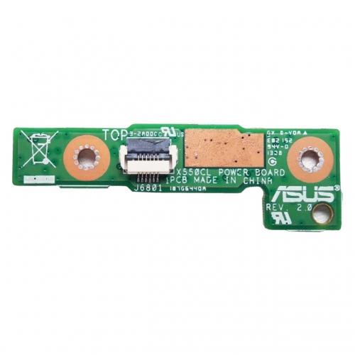 Плата кнопки включения Asus X550, X552, F552, X550CL, F552C, F552CL
